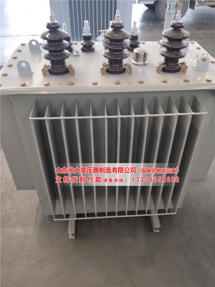 晋城SH15-250KVA非晶合金节能电力变压器